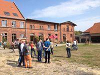 Fraktion auf dem StadtGut Blankenfelde; Foto: BS